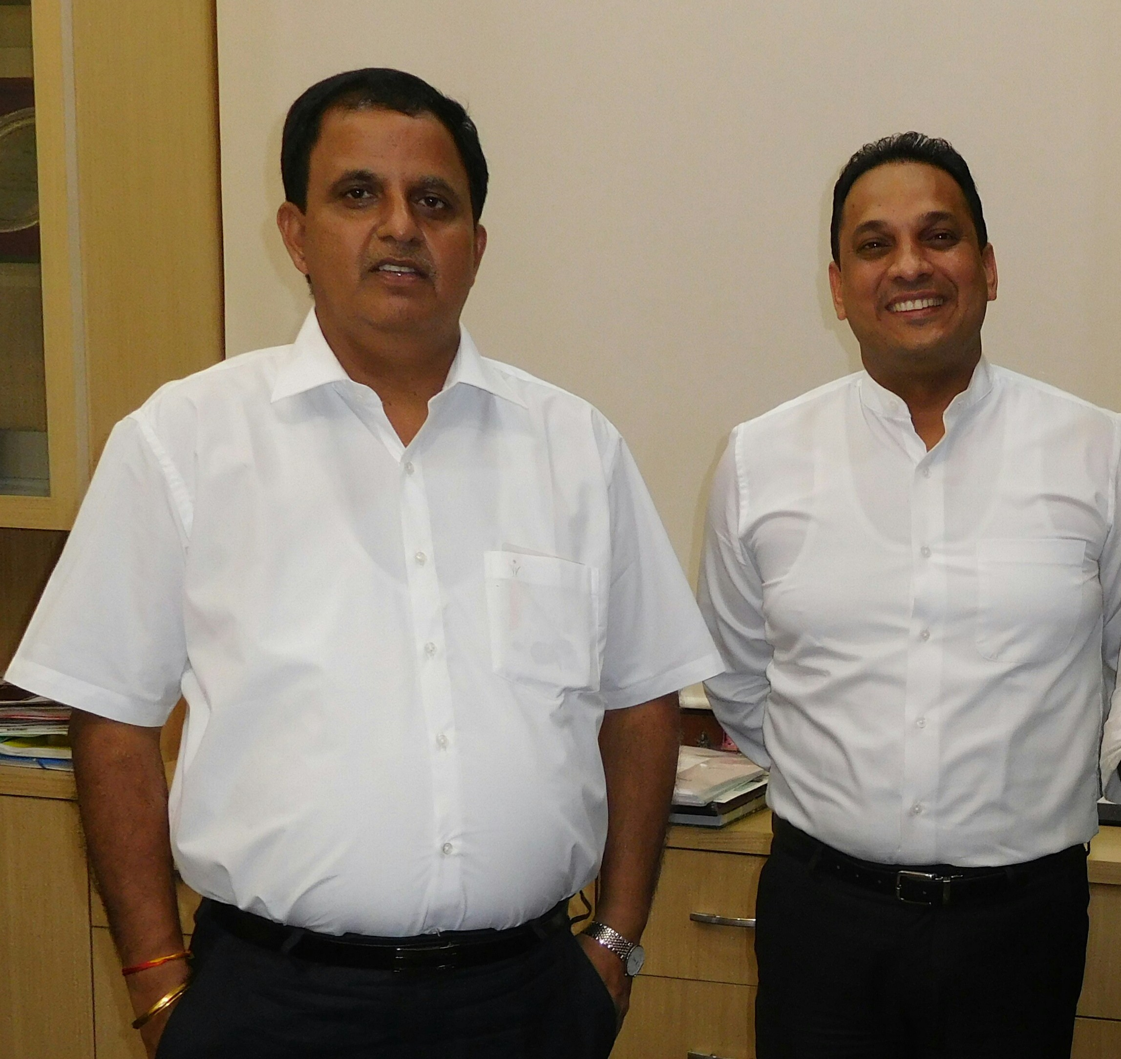 Keshav Kumar, MD, Lucknow Metro with Sarvesh Tiwari, MD, PR Professionals