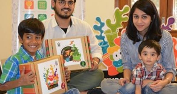 Good PR: Kids help to launch learning kit, 'WonderBoxx'