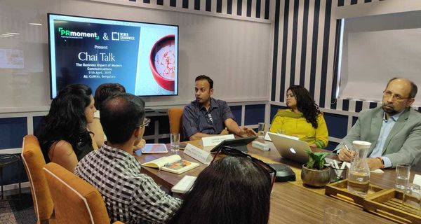 PR prepares market for key business partners, Ashish Gupta, CEO, Docprime at PRmoment-Weber Shandwick 'Chai Talk Bengaluru'