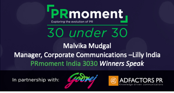 PRmoment 3030 winner Malvika Mudgal shares case studies on blending advocacy with PR