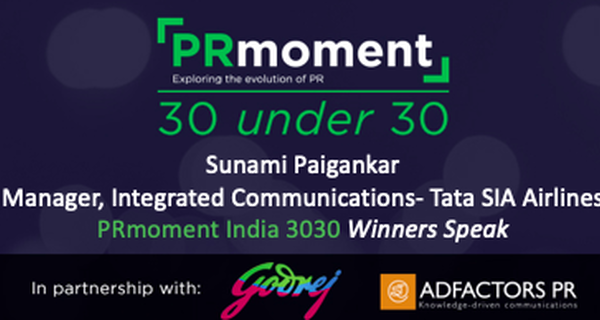 PRmoment 3030 winner Sunami Paigankar shares a day in the life of an internal communications professional