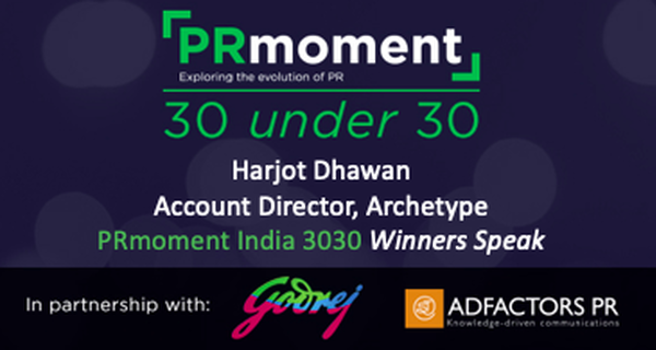 PRmoment 3030 winner Harjot Dhawan examines how experiential marketing can win over the bored customer